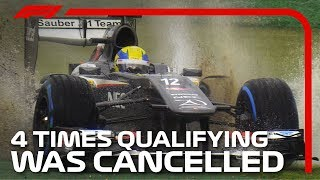 Four Times Qualifying Was Cancelled