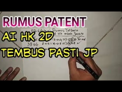 Rumus Patent Ai 2d HK Tembus 4 Hari Berturut-turut