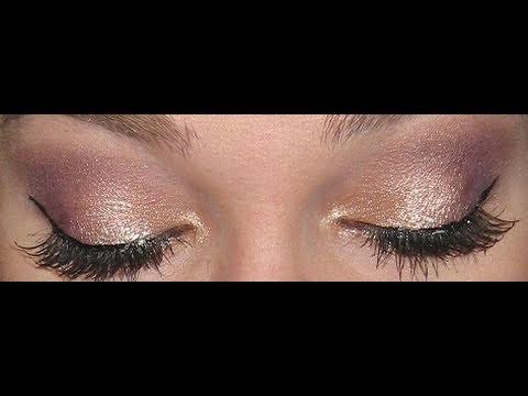 Golden Plum MAC Makeup Tutorial!! (Trax) - YouTube