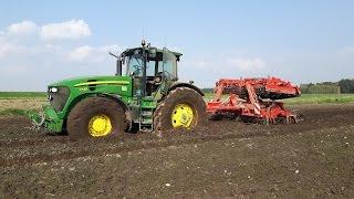 Mokra uprawa pod kukurydzę/The cultivation of the corn 2016