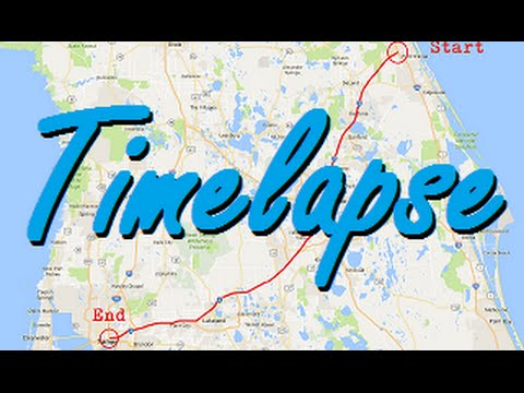 Interstate 4 Complete Span in Florida - Time Lapse