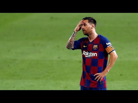 Lionel Messi was banned from Barcelona training.