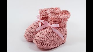 Crochet baby shoes very easy Majovel crochet #crochet