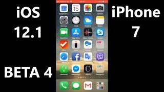 iOS 12.1 BETA 4 on iPhone 7 speed test - FAST!