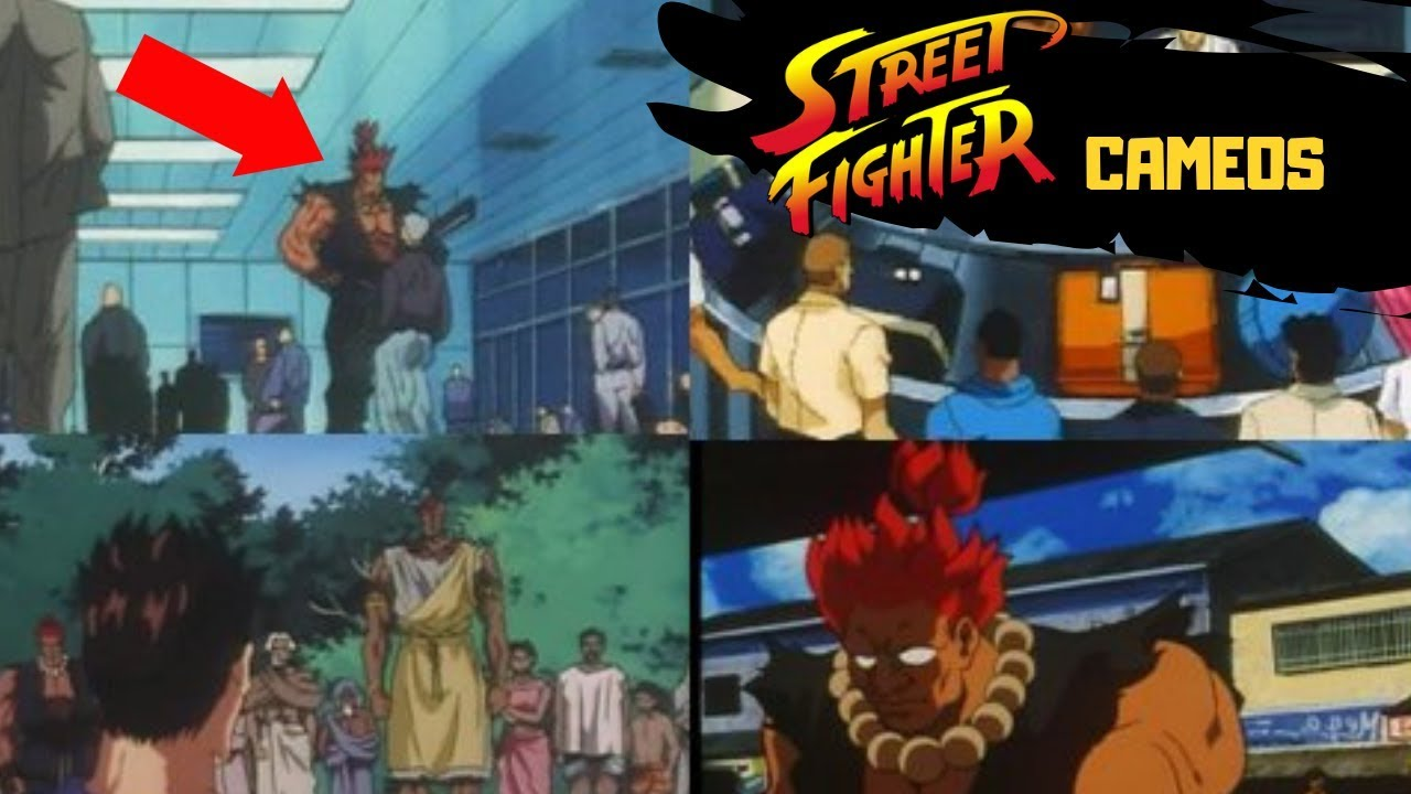 All Akuma Cameos Street Fighter Animated Movies Akuma