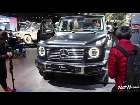 2019 Mercedes-Benz G550 Close-Up Look! 2018 NAIAS