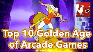 Countdown - Top 10 Golden Age of Arcade Games   Rooster Teeth