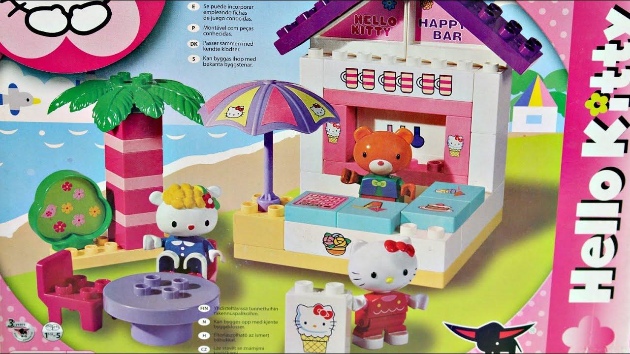 Strandbar / Bar na Plaży z Ogródkiem - Hello Kitty - Klocki PlayBig ...