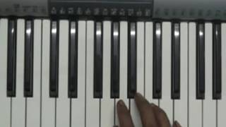 minungum minnaminunge, oppam on keyboard slowly played