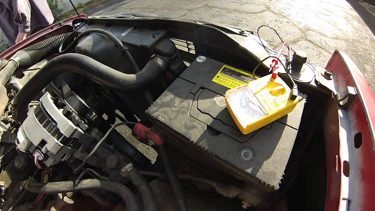 chevy s10 charging system issues or bad battery [ 1280 x 720 Pixel ]