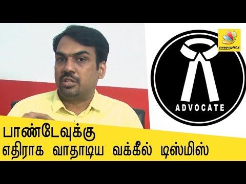 K Veeramani sacks advocate who filed complaint against Rangaraj Pandey from DK | Latest Tamil News