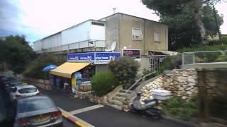 Израиль -- Хайфа -- Спускаемся по горе Кармель на автобусе(Домашнее видео -- День 4-ый -- 15 мая 2013 г. Израиль -- Хайфа -- Спускаемся по горе Кармель на автобусе - 2013.05.15 wed..., 2013-06-12T19:58:16.000Z)