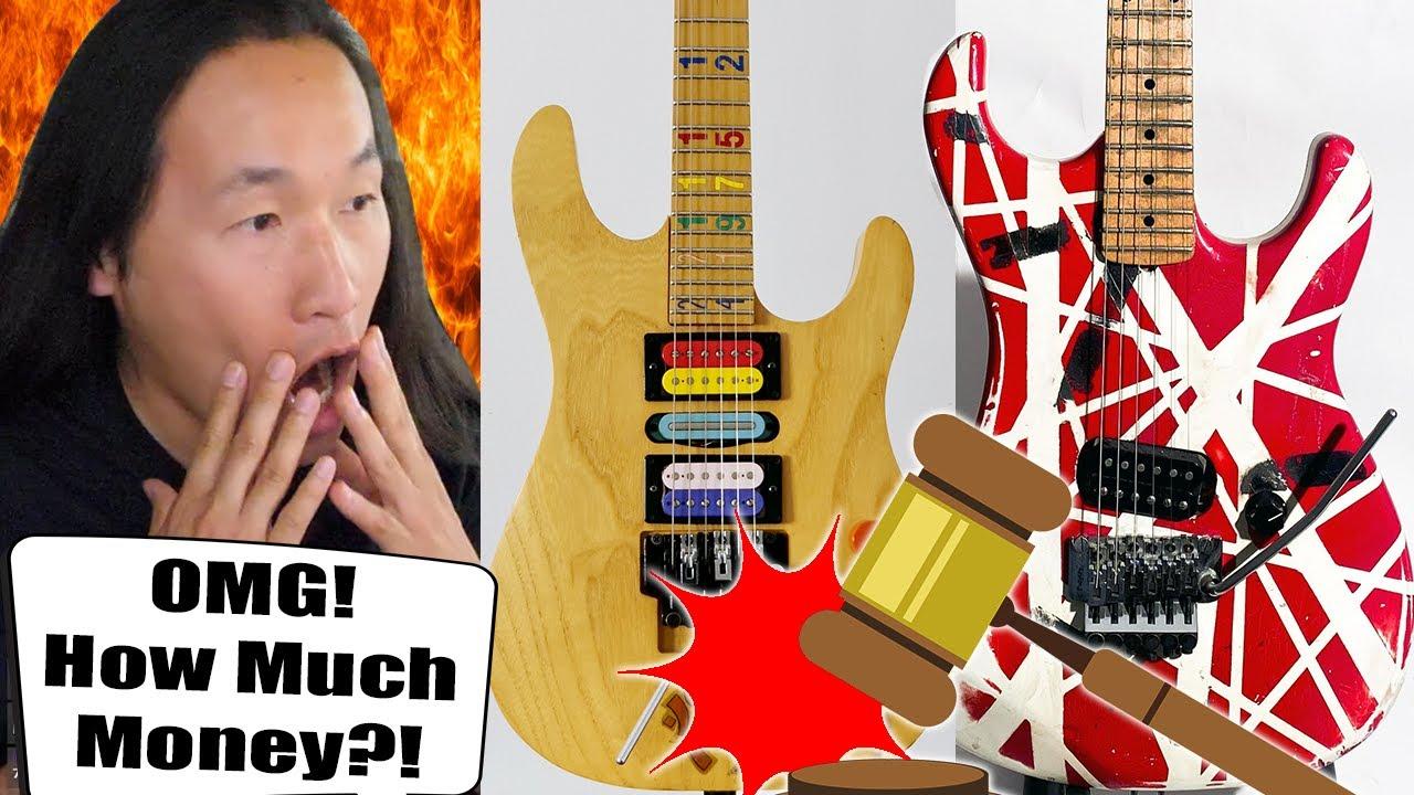 The Most Expensive Shred Guitars Ever? Eddie Van Halen & Jason Becker Guitars