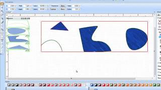 Bernina Designworks Software - Tool Tip - Drawing Tools