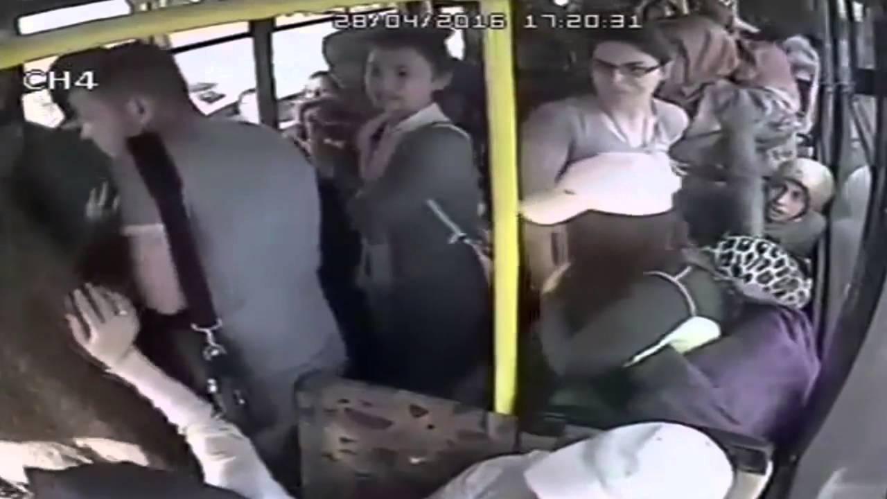 как щупают в автобусе