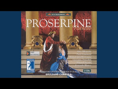 Proserpine, Act I Scene 1: Act I Scene 1: Jupiter a vaincu les Titans pour jamais (Proserpina)