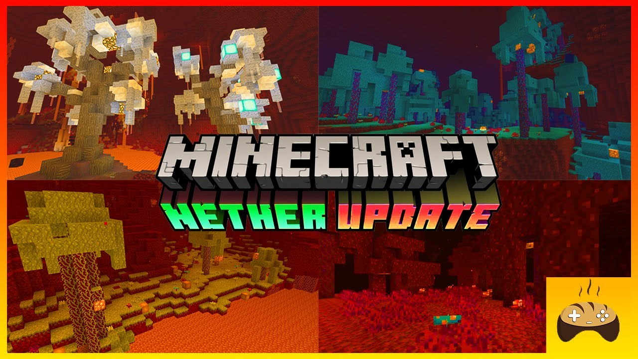 How to Find All the New Biomes in The Nether (New Update) - Minecraft Part 4