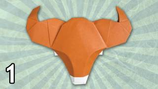 Origami Ox By Bernie Peyton (folding Instructions) ~part One~