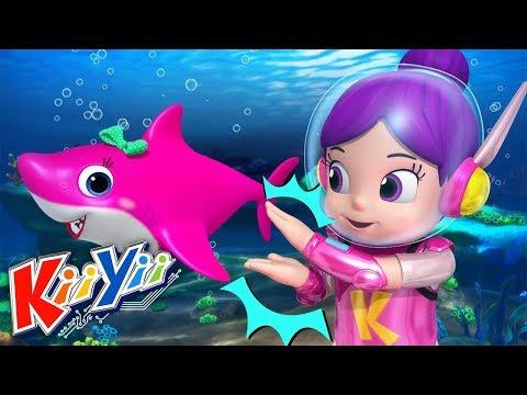 Baby Shark Song - Bébé Requin | Comptines pour bébé | Dessins animés | KiiYii en Français