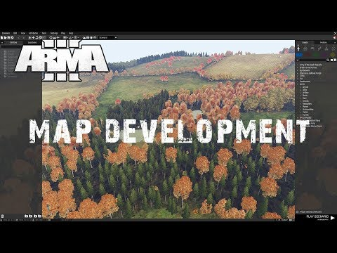 Arma 3 DayZ Map Development - Making the town of Alexandria from The Walking Dead - Chillout
