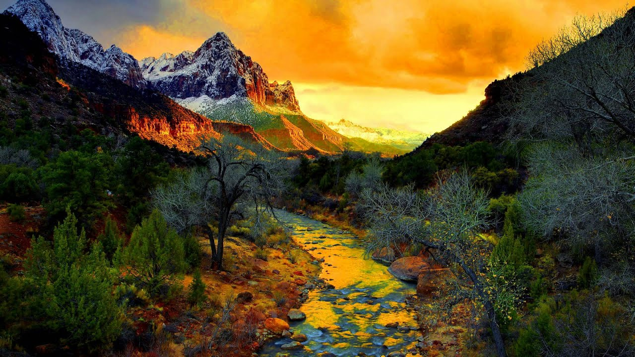 Fall Mountain Wallpaper Free The Mountain Stream Composed By Tomekkobialka Youtube