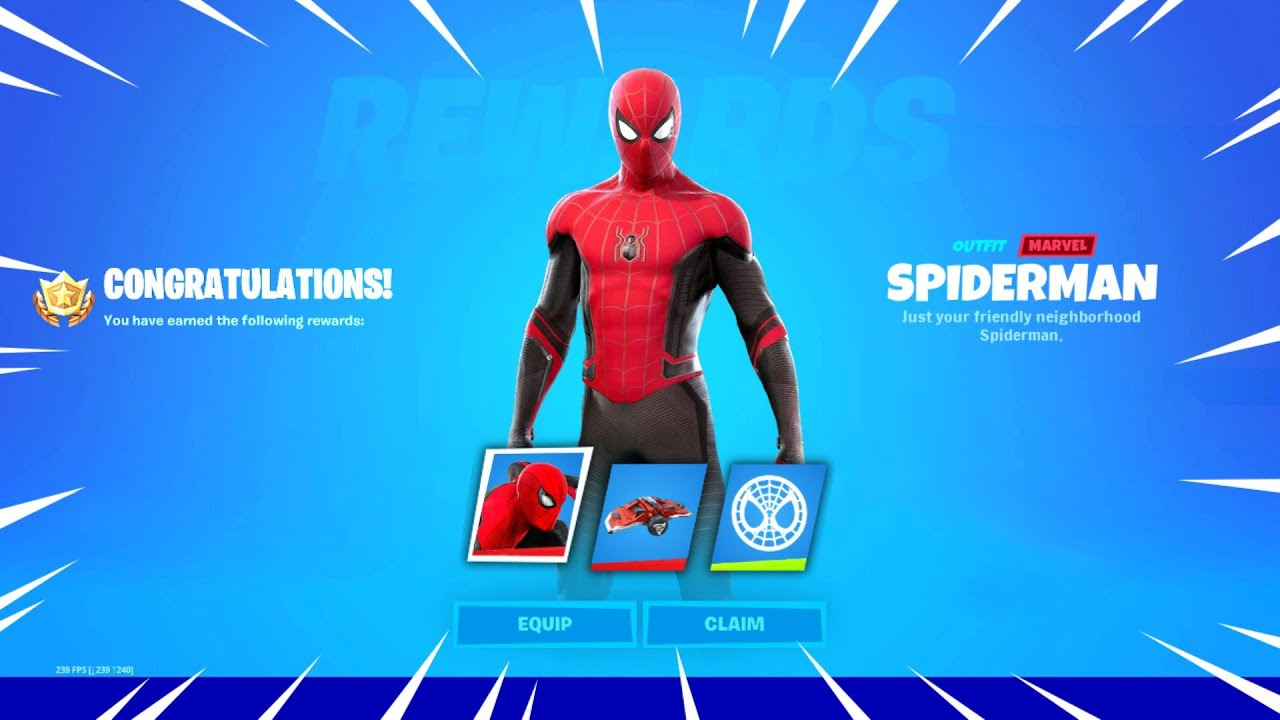 Download SPIDERMAN Is in The Fortnite Update!