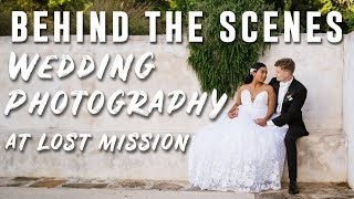 Real Wedding Behind the Scenes at Lost Mission (venue from Peter Mckinnon photography fail video)