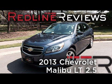 2013 Chevrolet Malibu Lt 25 Review Walkaround Exhaust Test