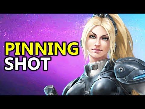 ♥ Nova Pinning Shot Build - Heroes of the Storm (HotS Gameplay)