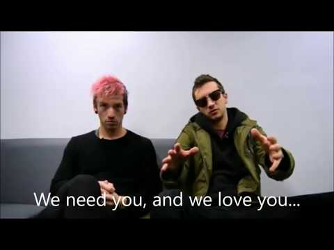 tyler telling you to PLEASE stay ALIVE