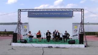 "«Volga-folk-band» play ""Jazz Suite"""