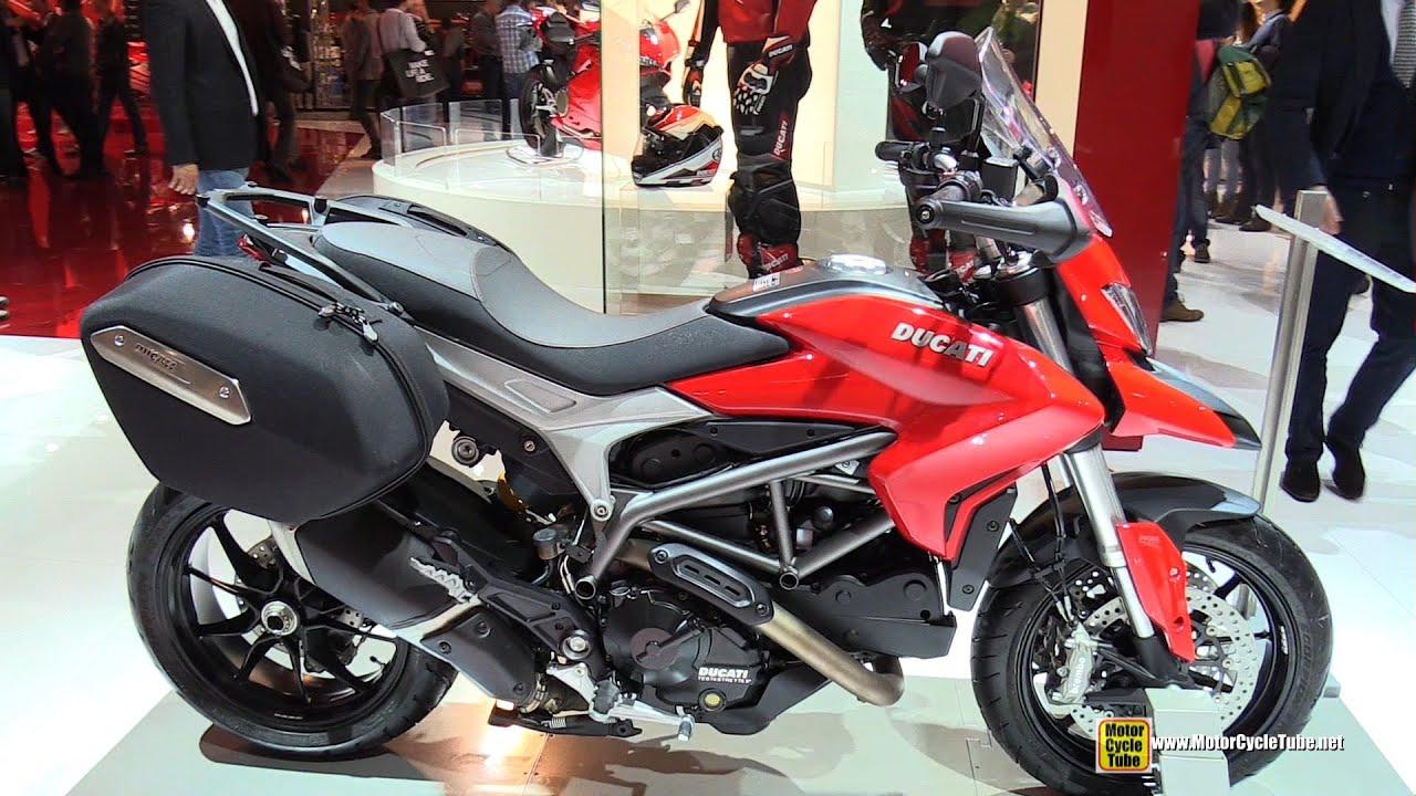 2015 ducati hyperstrada - walkaround - 2014 eicma milan motorcycle