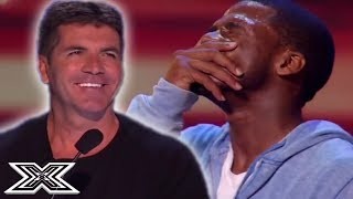SENSATIONAL SOULFUL Stevie Wonder Cover! - Marcus Canty's X Factor Audition | X Factor Global