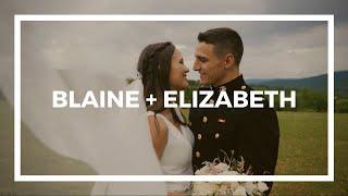 Blaine + Elizabeth | Wedding Film | Mountain Lake Lodge