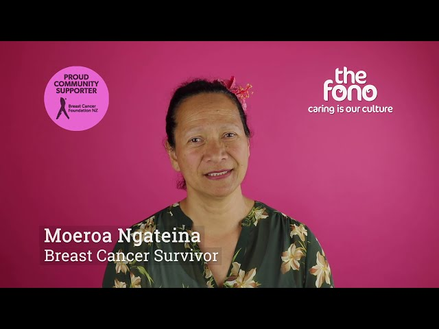 The Fono | Moeroa Ngateina | Breast Cancer Survivor story | English | Breast Cancer Awareness Month