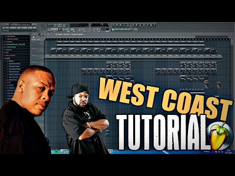 FL STUDIO WEST COAST BEAT TUTORIAL (GERMAN/DEUTSCH) - Hip Hop Gangsta Rap Beat [prod. by Hunes]