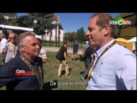 Lucien Van Impe en Willy Teirlinck bezoeken de Village Départ! - Vive le Vélo 2016 - 17 juli 2016