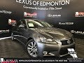 Used Gray 2013 Lexus GS 350 Navigation Package Walkaround Review Drayton Valley Alberta