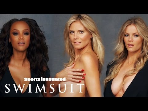 Brooklyn Decker, Heidi Klum, Tyra Banks & More In One Shoot  Legends  Sports Illustrated Swimsuit