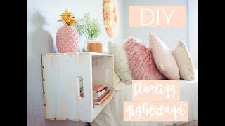 Keep watching to see how you can create a nightstand for under $15!!! -- FOLLOW ME Blog www.marisagabrielle.net Instagram @