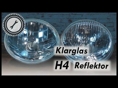 Auf H4-Scheinwerfer umrüsten (Klarglas Reflektor) - Simson Tutorial ...