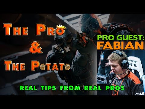 The Pro & The Potato || Rainbow Six Siege Tips from Pros ft. Fabian