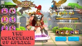 Scipio Africanus Commander spotlight v 2.0 - tip's and advice's - Rise of Kingdoms