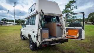 FOR SALE - 2007 Toyota Lancruiser HiTop Campervan Australia