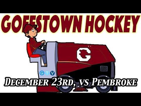 Goffstown Hockey // vs Pembroke // December 23rd, 2016