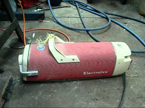 Scrap Yard Loot Vintage Electrolux Vac Pump Carry