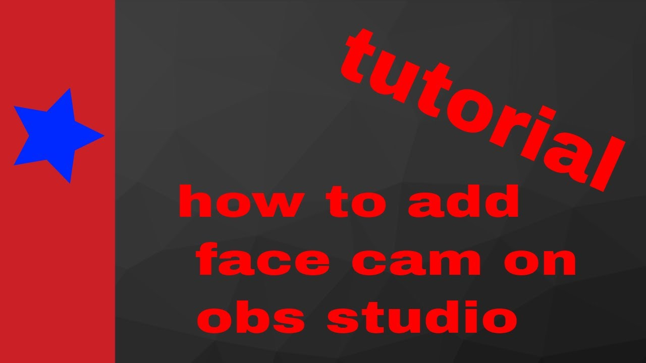 how to use obs as a webcam