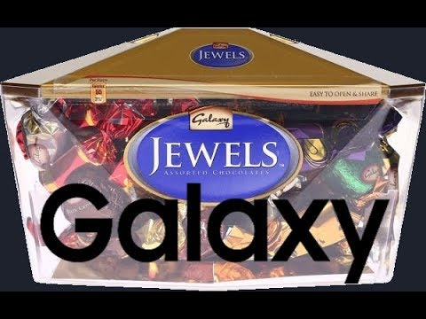 MUST WATCH ! Unboxing Galaxy Jewels Chocolate XD