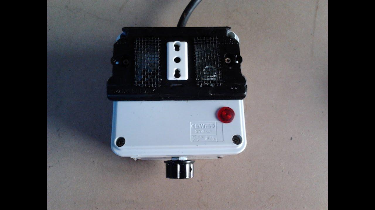 regolatore tensione trapani motori resistenze lampade