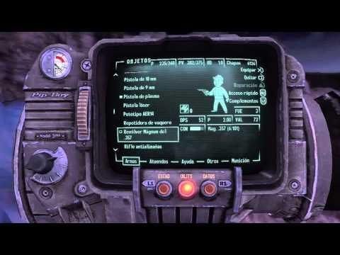 Mini Analisis Fallout New Vegas (Sitio Interesante)